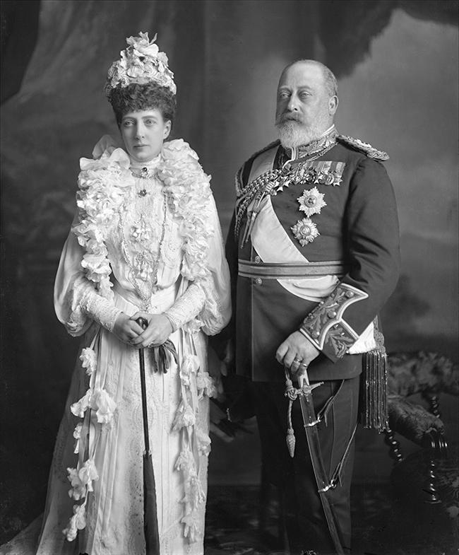 king edward vii  u0026 queen alexandra 1903